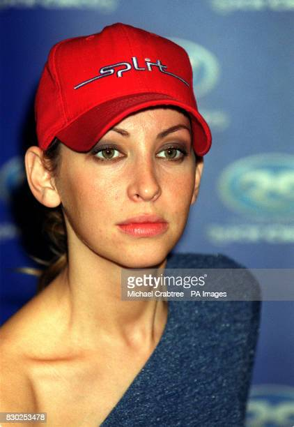 Natalie Appleton of the girl band All Saints at Madame Tussaud's Rock Circus in London