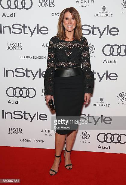 Natalie Barr arrives ahead InStyle and Audi Women of Style Awards at The Star on May 12 2016 in Sydney Australia