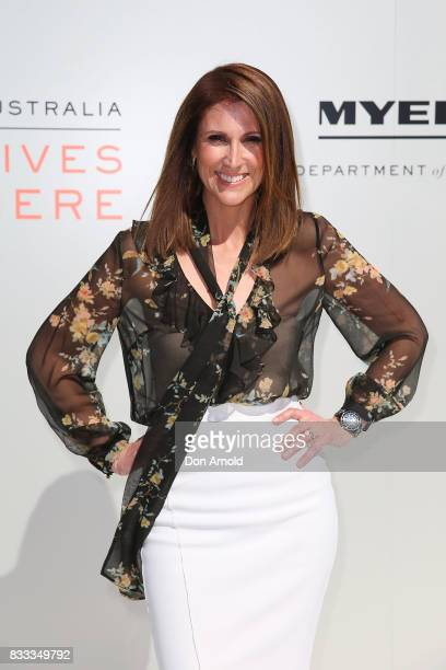 Natalie Barr at the Myer Spring 2017 Fashion Launch on August 17 2017 in Sydney Australia