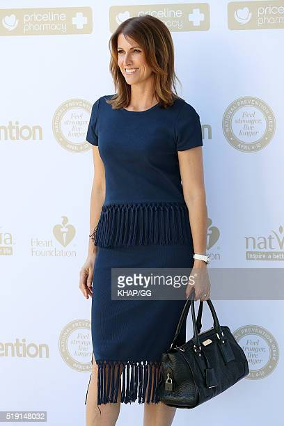 Natalie Barr attends the National Prevention breakfast on April 5 2016 in Sydney Australia