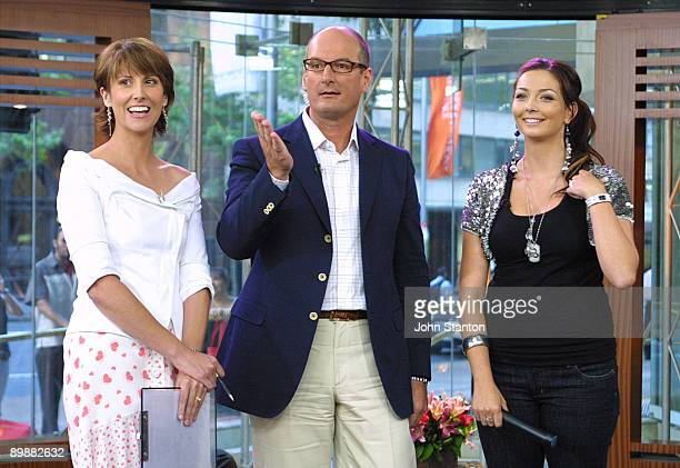 Natalie Barr David Koch and RickiLee Coulter