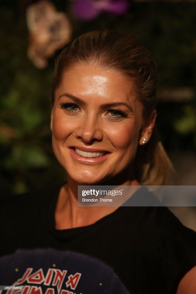 <a gi-track='captionPersonalityLinkClicked' href=/galleries/search?phrase=Natalie+Bassingthwaighte&family=editorial&specificpeople=208779 ng-click='$event.stopPropagation()'>Natalie Bassingthwaighte</a> arrives at the David Jones A/W 2014 Collection Launch at the David Jones Elizabeth Street Store on January 29, 2014 in Sydney, Australia.