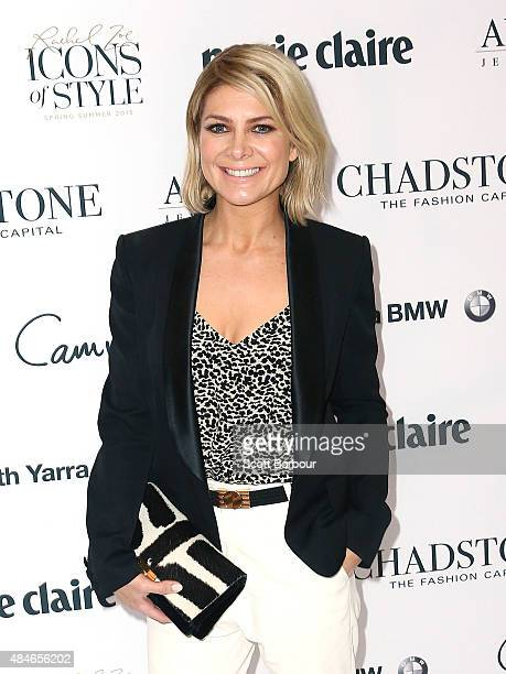 Natalie Bassingthwaighte attends the 'Icons of Style' breakfast at Chadstone Shopping Centre on August 21 2015 in Melbourne Australia