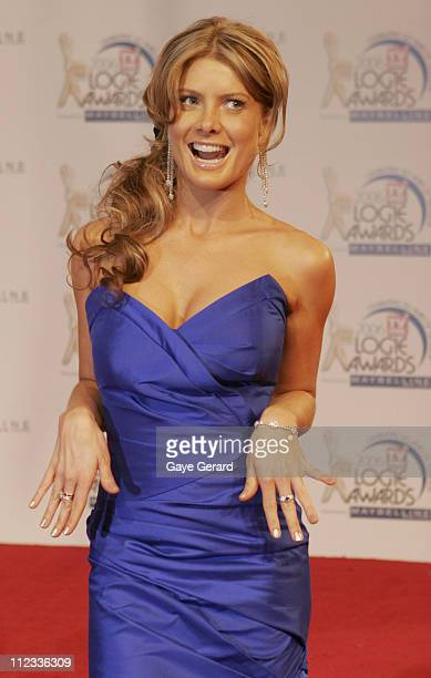 Natalie Bassingthwaighte during 2006 TV Week Logie Awards Arrivals at Crown Casino in Melbourne VIC Australia