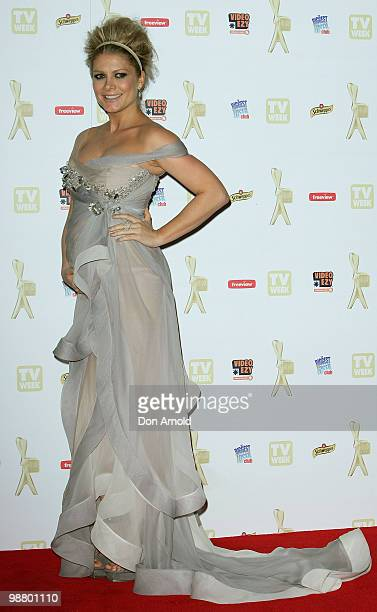 Natalie Bassingthwaite arrives at the 52nd TV Week Logie Awards at Crown Casino on May 2 2010 in Melbourne Australia