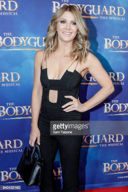 Natalie Bassingthwaite during a production media call for The Bodyguard at Regent Theatre on August 29 2017 in Melbourne Australia