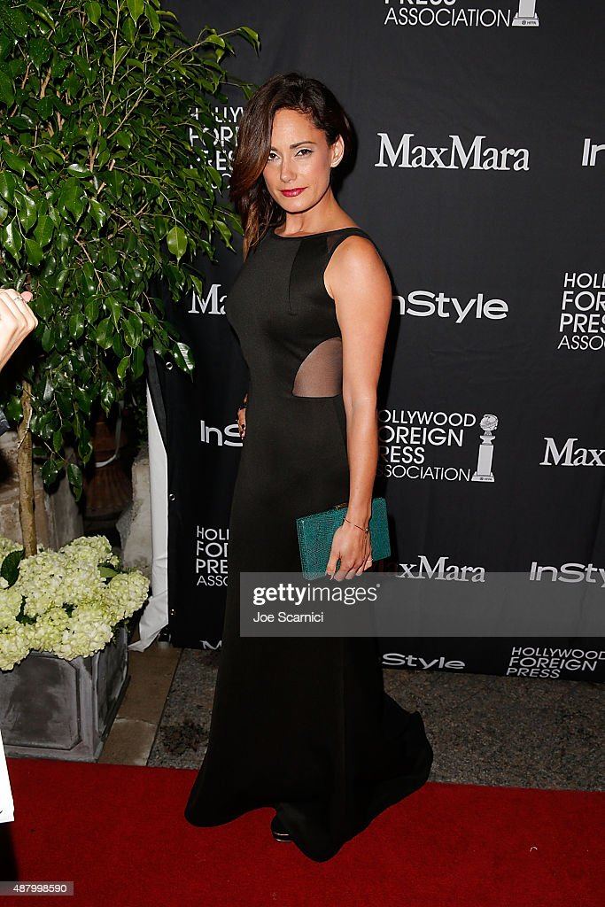 Natalie Brown attends HFPA/InStyle's Annual TIFF Celebration at Windsor Arms Hotel on September 12, 2015 in Toronto, Canada.