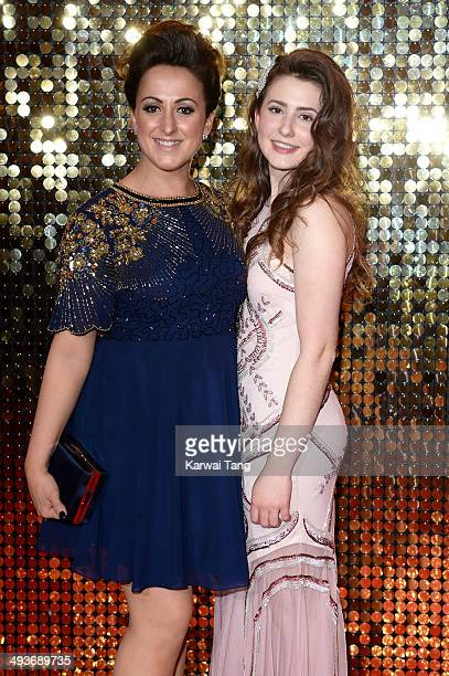 Natalie Cassidy and Jasmine Armfield attend the British Soap Awards held at the Hackney Empire on May 24 2014 in London England