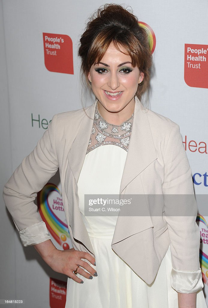 <a gi-track='captionPersonalityLinkClicked' href=/galleries/search?phrase=Natalie+Cassidy&family=editorial&specificpeople=708103 ng-click='$event.stopPropagation()'>Natalie Cassidy</a> attends a fundraising event in aid of The Health Lottery hosted by Simon Cowell at Claridges Hotel on March 28, 2013 in London, England.