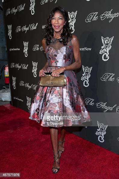 Natalie Cole attends the 2014 Angel Ball at Cipriani Wall Street on October 20 2014 in New York City