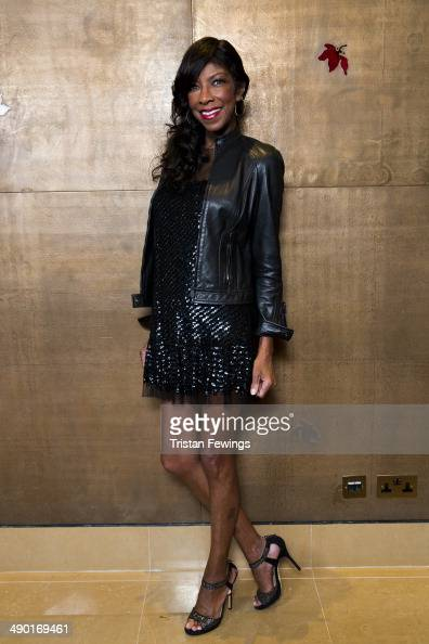Natalie Cole attends the premiere for 'Nat King Cole Afraid Of the Dark' at The Mayfair Hotel on May 13 2014 in London England