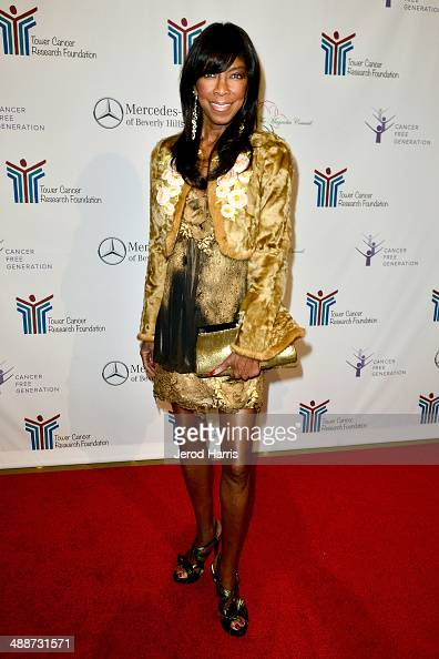 Natalie Cole attends Tower Cancer Research Foundation's Tower of Hope Gala at The Beverly Hilton Hotel on May 7 2014 in Beverly Hills California