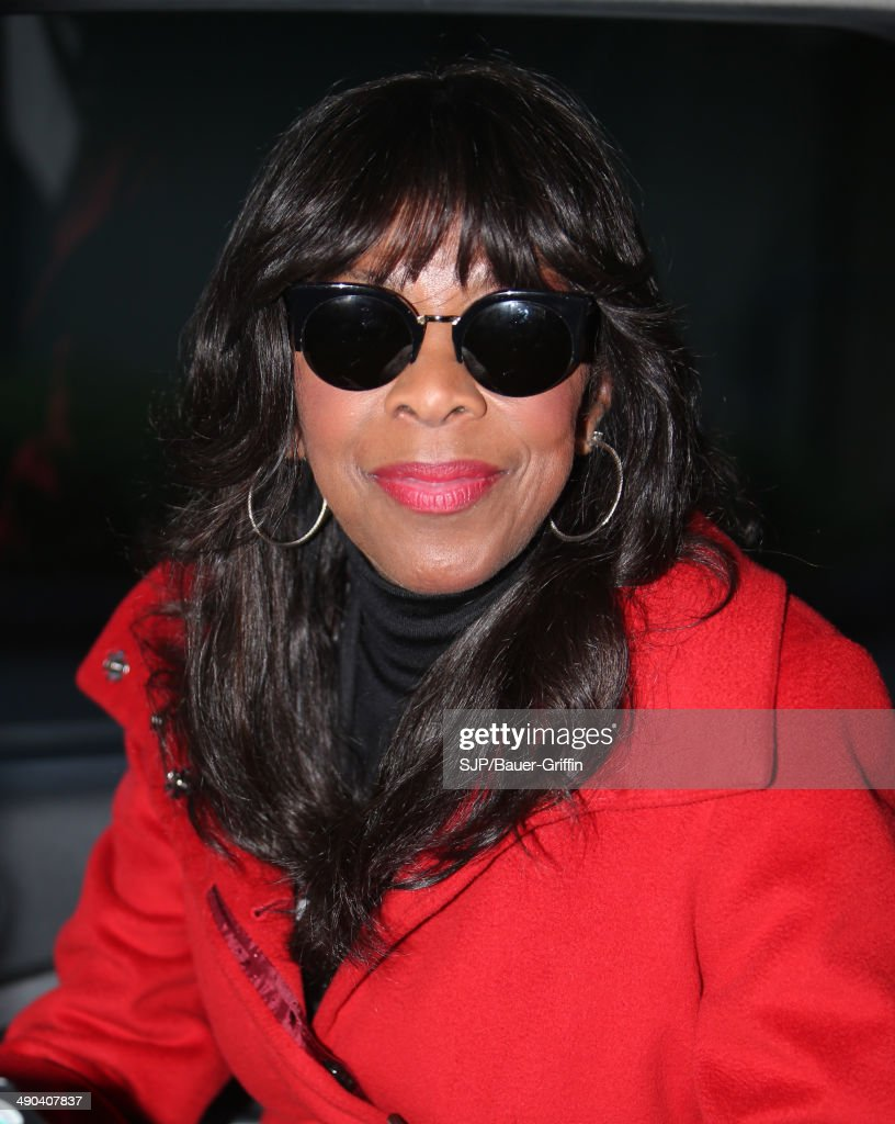 Natalie Cole is seen on May 14 2014 in London United Kingdom
