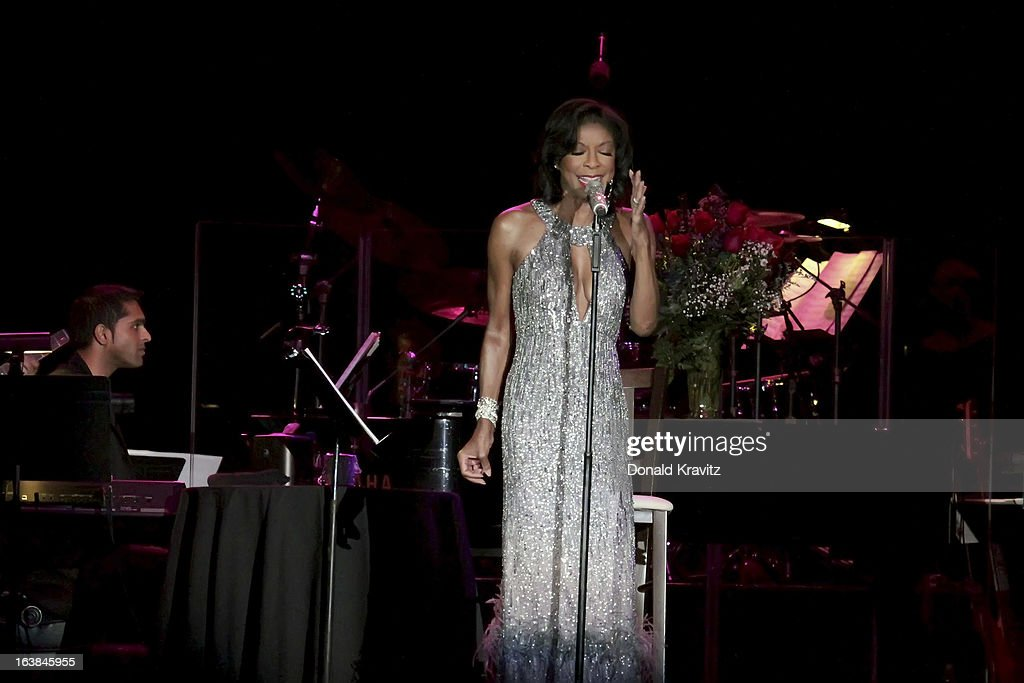 Natalie Cole performs in concert at Mark G. Etess Arena - Trump Taj Mahal on March 16, 2013 in Atlantic City, New Jersey.