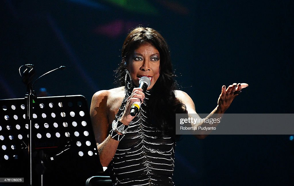 Natalie Cole performs in the 10th Year Edition of Jakarta International Java Jazz Festival 2014 day 3 at JIExpo Kemayoran on March 2 2014 in Jakarta...