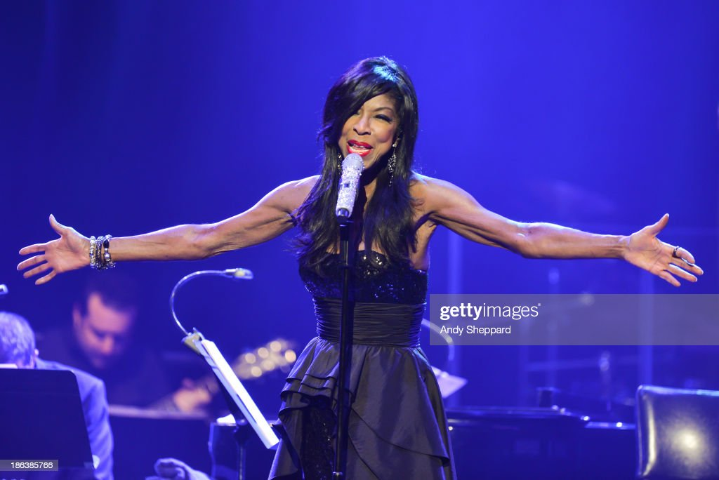 Natalie Cole performs on stage during the second day of BluesFest 2013 at Royal Albert Hall on October 30 2013 in London United Kingdom