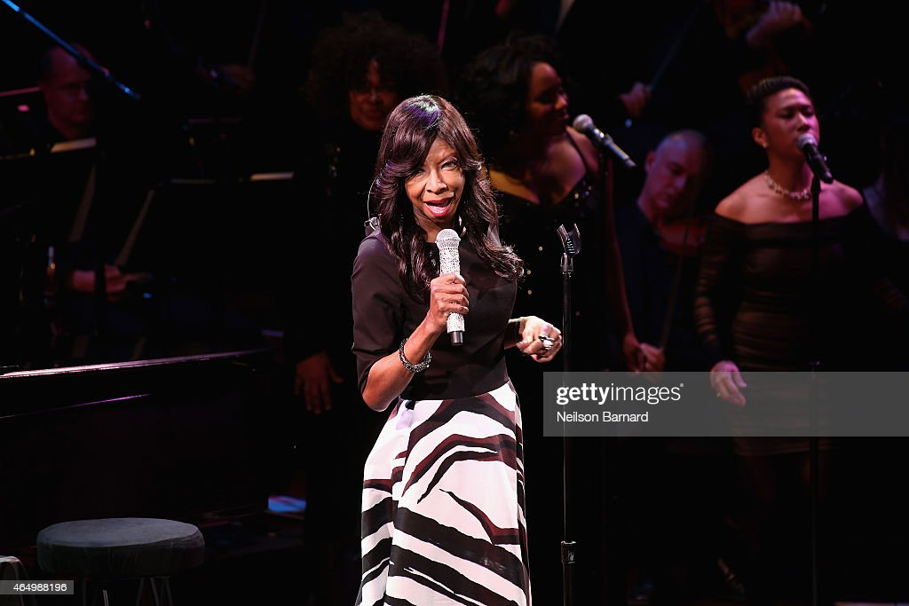 Natalie Cole performs onstage during SeriousFun Children's Network 2015 New York Gala An Evening of SeriousFun Celebrating the Legacy of Paul Newman...