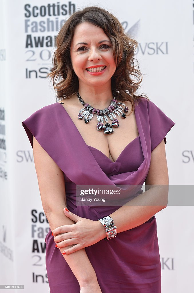 Natalie Colin creative director of Swarovski attends Scotland's most high-profile celebration of fashion and style which recognises scottish designers who have made a significant contribution to the industry at The Clyde Auditorium on June 11, 2012 in Glasgow, Scotland.