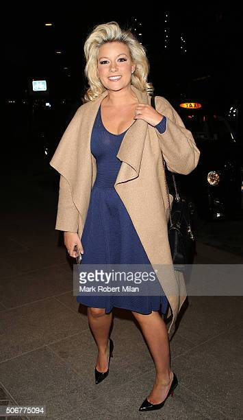 Natalie Coyle attending a VIP screening of 'Eating Happiness' in association with the World Dog Alliance at The Mondrian Hotel on January 25 2016 in...