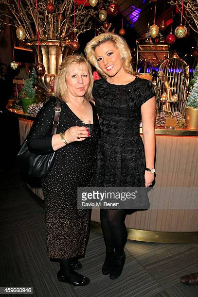 Natalie Coyle attends an after party following the Fayre of St James Christmas Concert presented by Quintessentially Foundation in aid of Rays of...