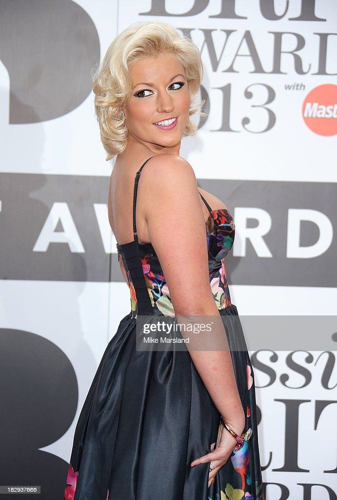 Natalie Coyle attends the Classic BRIT Awards 2013 at Royal Albert Hall on October 2, 2013 in London, England.