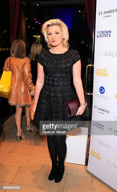 Natalie Coyle attends the Fayre of St James Christmas Concert presented by Quintessentially Foundation in aid of Rays of Sunshine at St James Church...