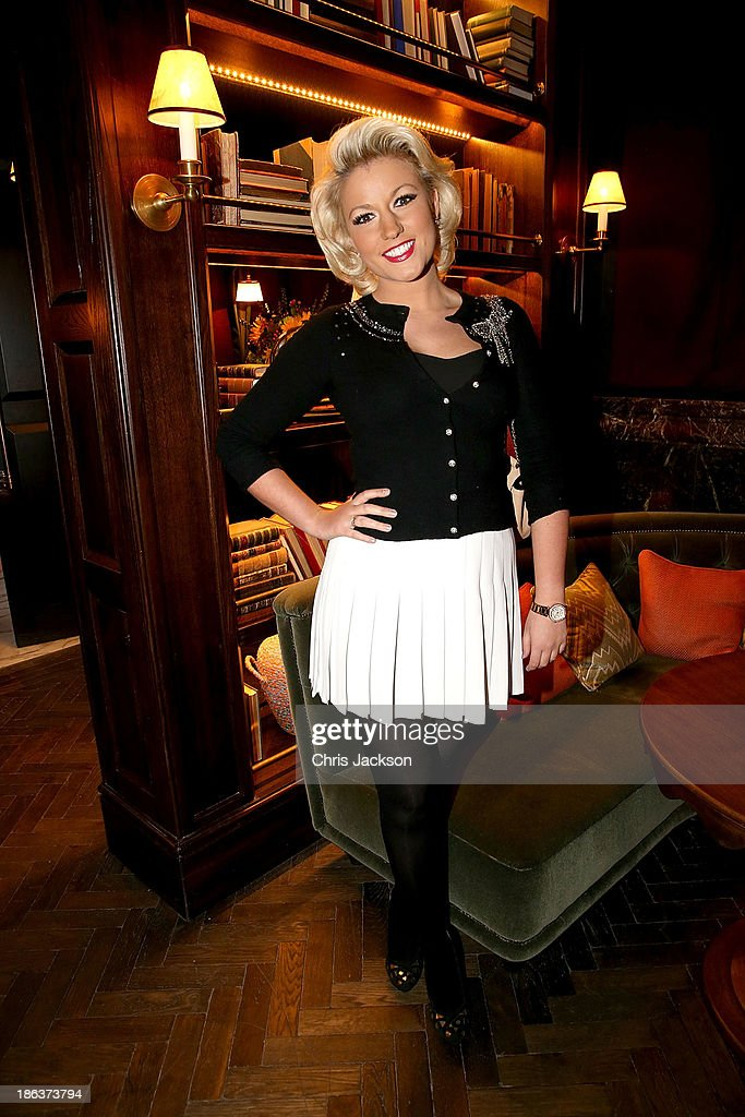 Natalie Coyle attends the opening of Rosewood London on October 30, 2013 in London, England.