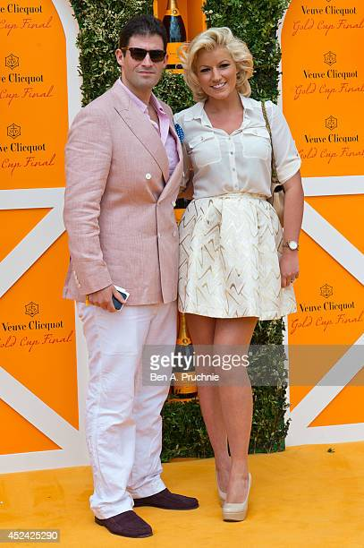 Natalie Coyle attends the Veuve Clicquot Gold Cup Final at Cowdray Park Polo Club on July 20 2014 in Midhurst England