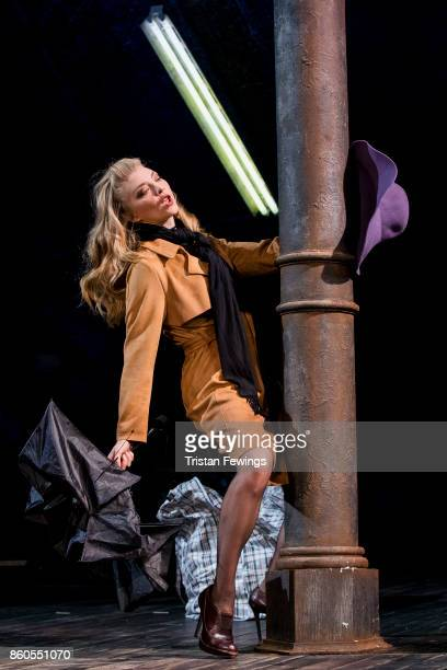 Natalie Dormer as Vanda Jordan during the Venus In Fur photocall at Theatre Royal on October 12 2017 in London England