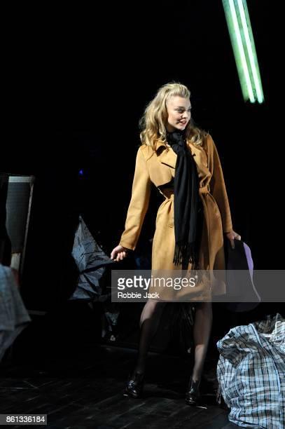 Natalie Dormer as Vanda Jordan in David Ives Venus in Fur directed by Patrick Marber at the Theatre Royal Haymarket on October 12 2017 in London...