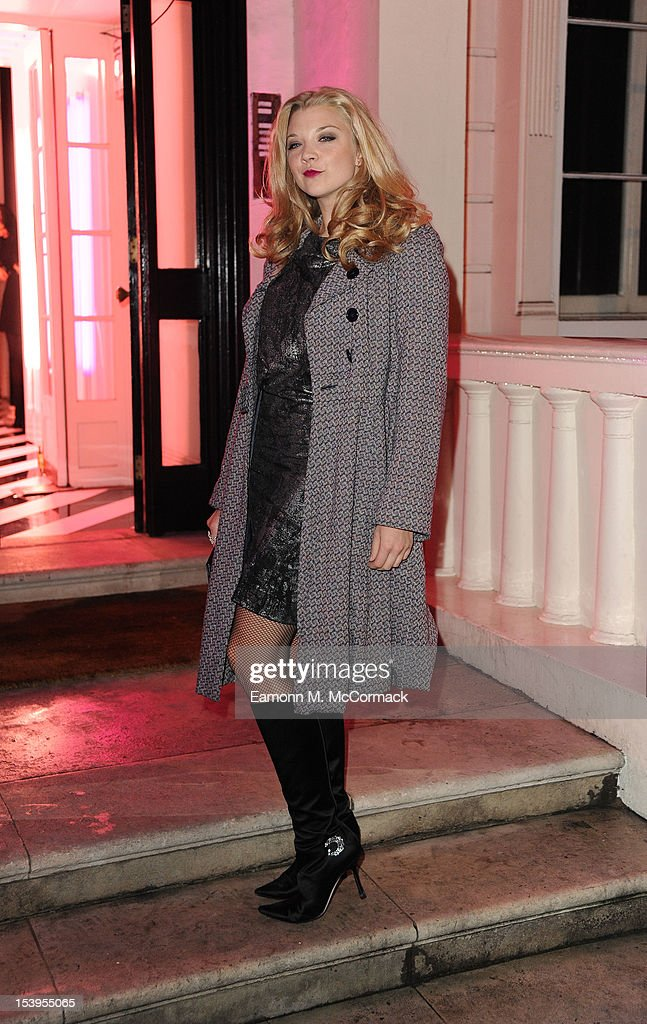 <a gi-track='captionPersonalityLinkClicked' href=/galleries/search?phrase=Natalie+Dormer&family=editorial&specificpeople=817757 ng-click='$event.stopPropagation()'>Natalie Dormer</a> attends a dinner hosted by W Magazine and Jimmy Choo on October 11, 2012 in London, England.