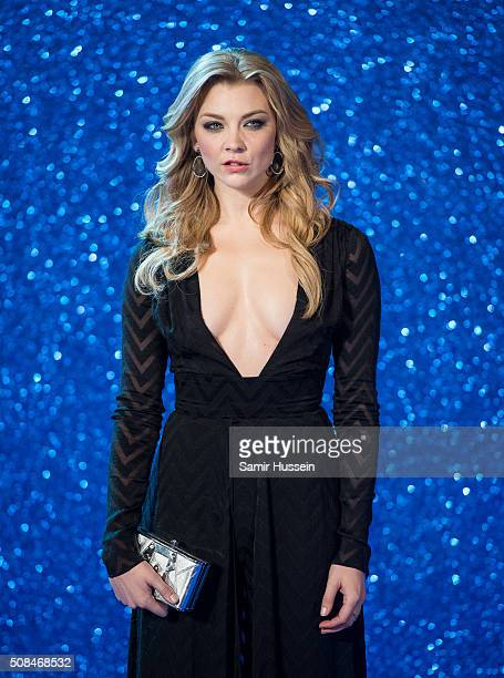 Natalie Dormer attends a London Fan Screening of the Paramount Pictures film 'Zoolander No 2' at Empire Leicester Square on February 4 2016 in London...