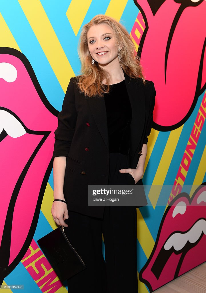 Natalie Dormer attends an after party for 'The Rolling Stones: Exhibitionism' Saatchi Gallery on April 4, 2016 in London, England.