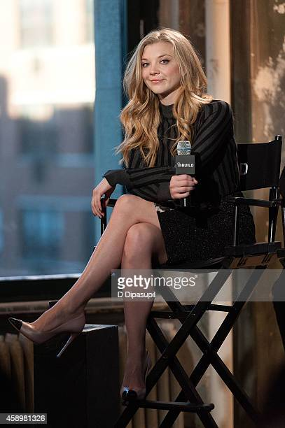 Natalie Dormer attends AOL's BUILD Speaker Series Presents In Conversation With Natalie Dormer at AOL Studios In New York on November 14 2014 in New...