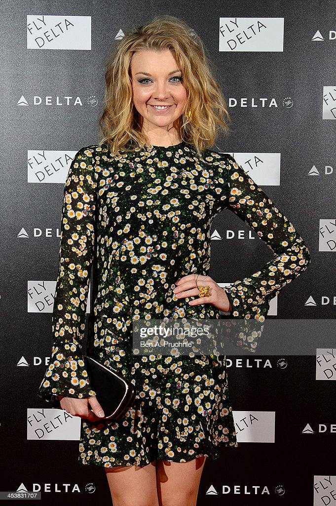 <a gi-track='captionPersonalityLinkClicked' href=/galleries/search?phrase=Natalie+Dormer&family=editorial&specificpeople=817757 ng-click='$event.stopPropagation()'>Natalie Dormer</a> attends Delta Air Lines Presents A Night Under The Bridge at Stamford Bridge on December 5, 2013 in London, England.