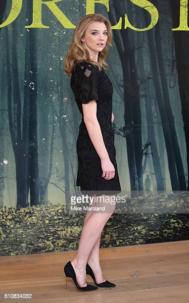 Natalie Dormer attends photocall for 'The Forest' at Soho Hotel on February 17 2016 in London England