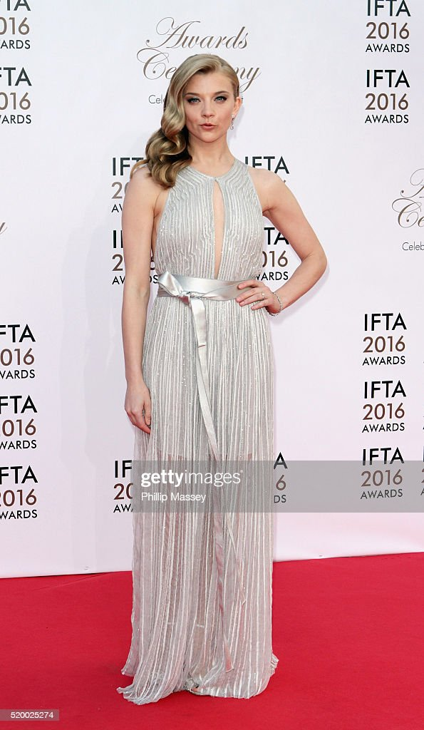 <a gi-track='captionPersonalityLinkClicked' href=/galleries/search?phrase=Natalie+Dormer&family=editorial&specificpeople=817757 ng-click='$event.stopPropagation()'>Natalie Dormer</a> attends the 2016 IFTA Film & Drama Awards at Mansion House on April 9, 2016 in Dublin, Ireland.