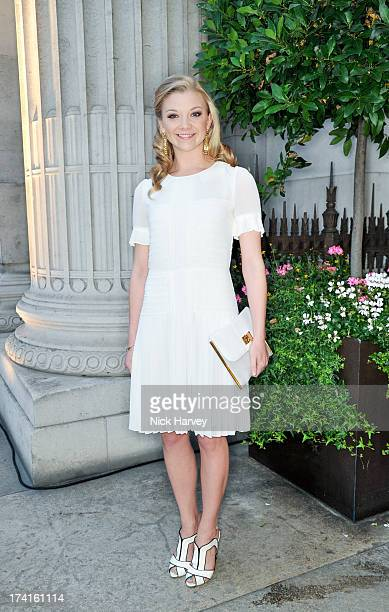 Natalie Dormer attends the Aston Martin centenary event at Freemasons Hall on July 20 2013 in London England