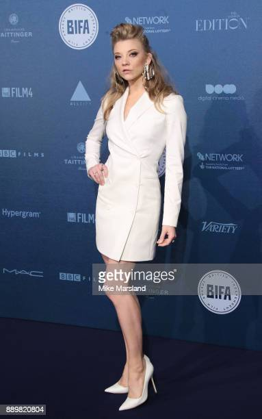 Natalie Dormer attends the British Independent Film Awards held at Old Billingsgate on December 10 2017 in London England