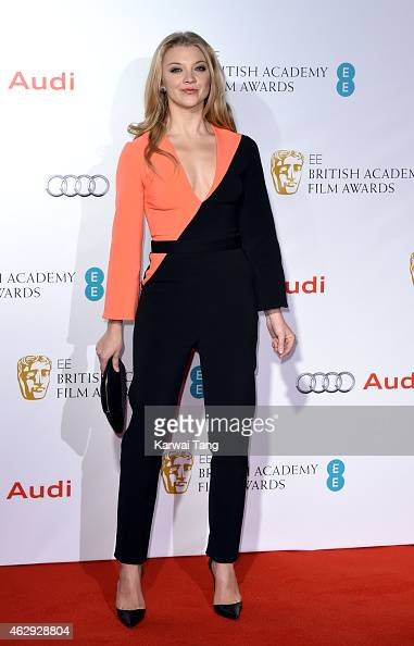 Natalie Dormer attends the EE British Academy Awards nominees party at Kensington Palace on February 7 2015 in London England