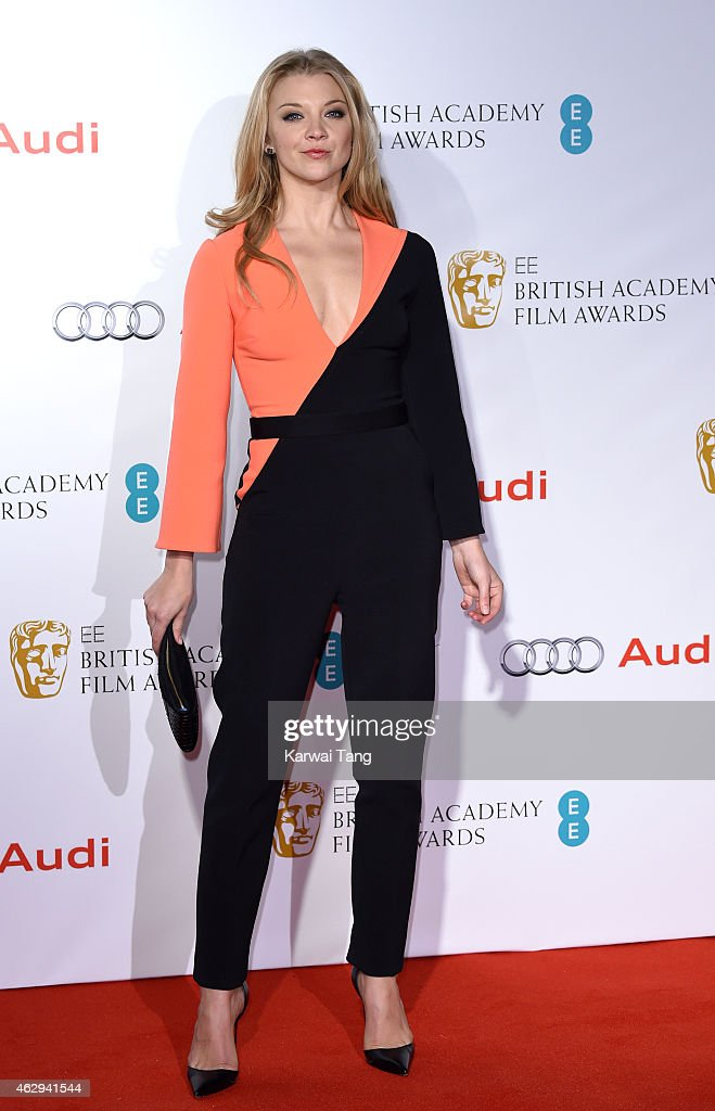 Natalie Dormer attends the EE British Academy Awards nominees party at Kensington Palace on February 7, 2015 in London, England.