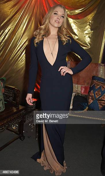 Natalie Dormer attends the 'Game Of Thrones Season 5' UK Premiere After Party at the Tower of London on March 18 2015 in London England