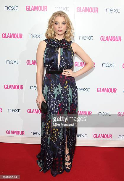 Natalie Dormer attends the Glamour Women of the Year Awards at Berkeley Square Gardens on June 3 2014 in London England