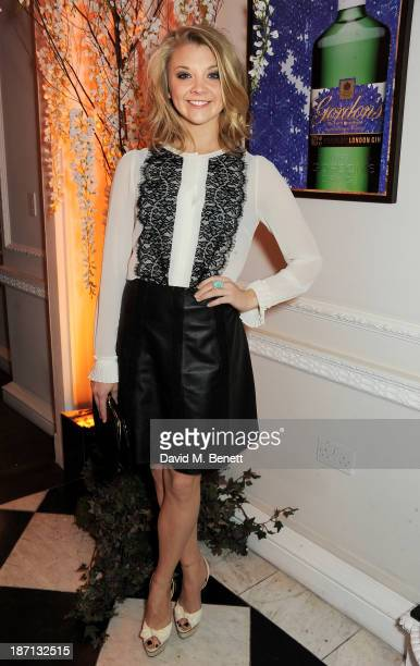 Natalie Dormer attends the Gordon's and Temperley London VIP launch party at Temperley London on November 6 2013 in London England