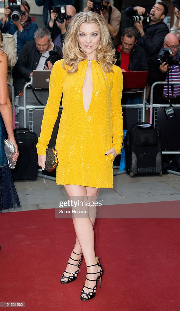 Natalie Dormer attends the GQ Men of the Year awards at The Royal Opera House on September 2, 2014 in London, England.