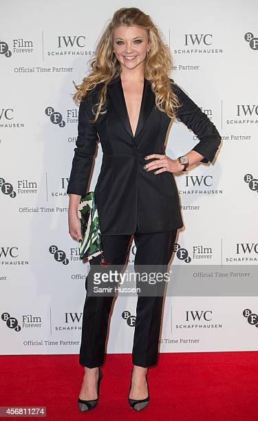Natalie Dormer attends the IWC Gala dinner in honour of the BFI at Battersea Evolution on October 7 2014 in London England