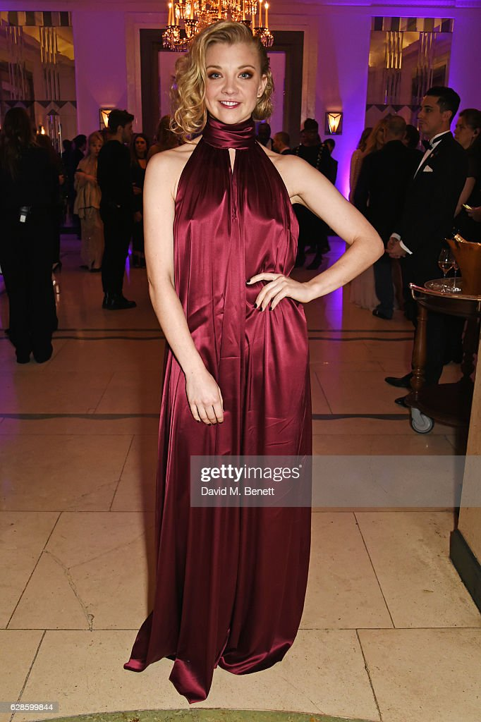 Natalie Dormer attends The London Evening Standard British Film Awards at Claridge's Hotel on December 8, 2016 in London, England.