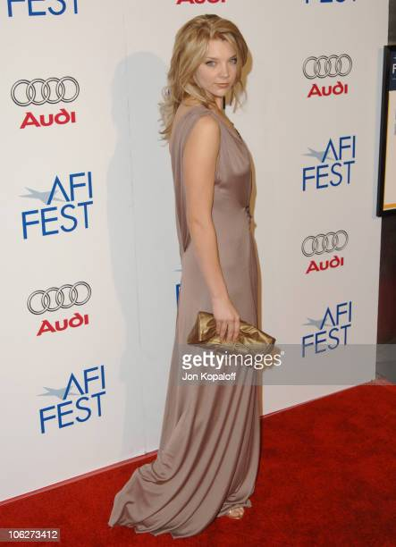 Natalie Dormer during AFI FEST 2005 Presented by Audi Closing Night Gala of 'Casanova' Arrivals at ArcLight Hollywood Cinerama Dome in Hollywood...
