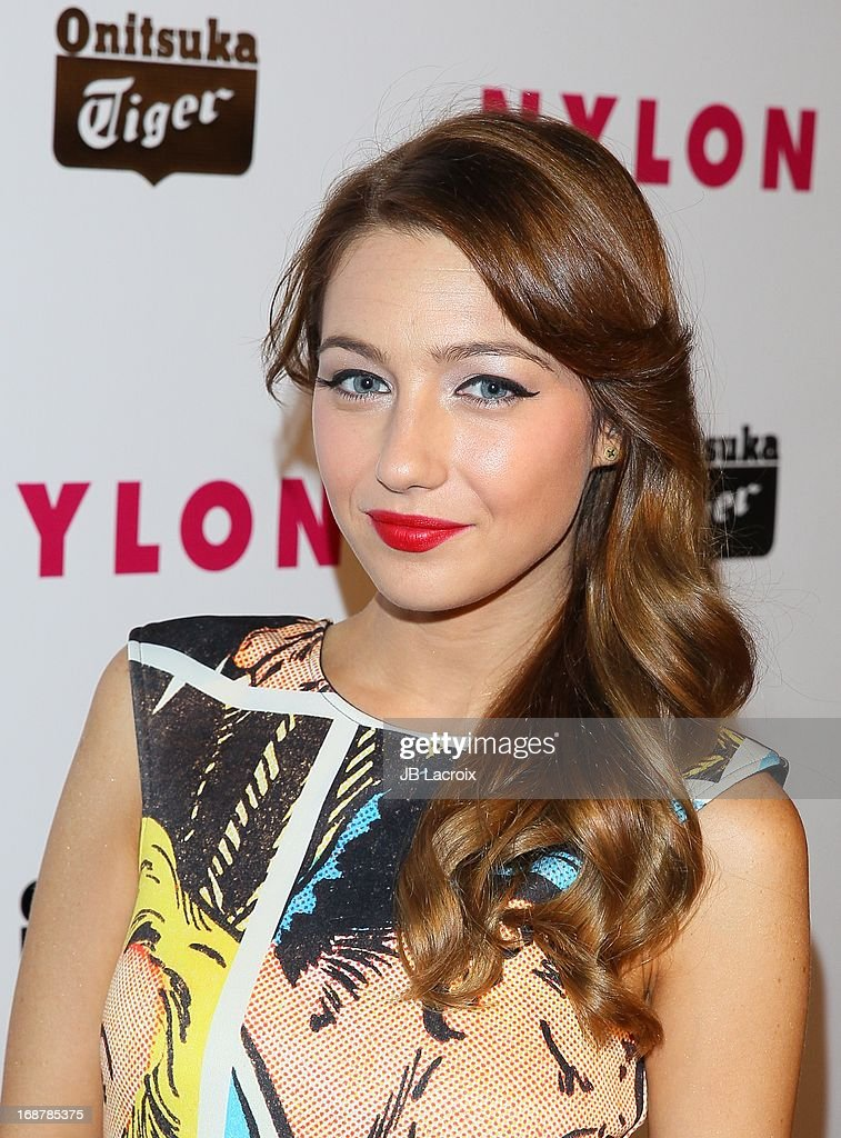 Natalie Dreyfuss attends the NYLON Magazine Annual May Young Hollywood Issue Party at The Roosevelt Hotel on May 14, 2013 in Hollywood, California.