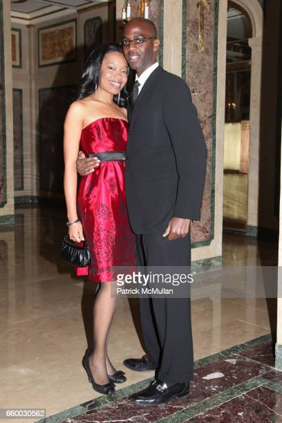 Natalie Edwards and Alton Murray attend Orchestra of St Luke's Gala at The Plaza Hotel on May 4 2009 in New York